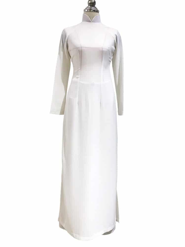 cho thuê áo dài nữ trắng học sinh