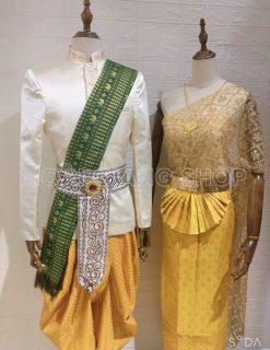 trang phục Thái lan cặp vàng