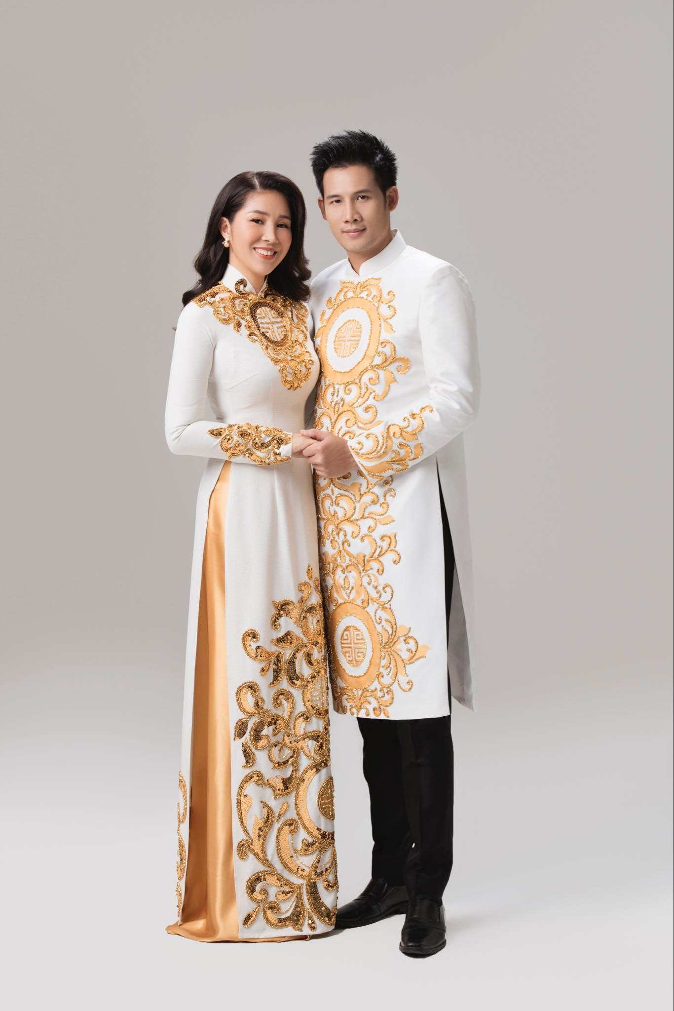may áo dài cưới đẹp