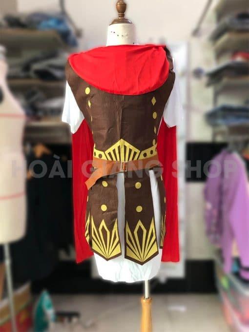 cho thuê trang phục chiến binh