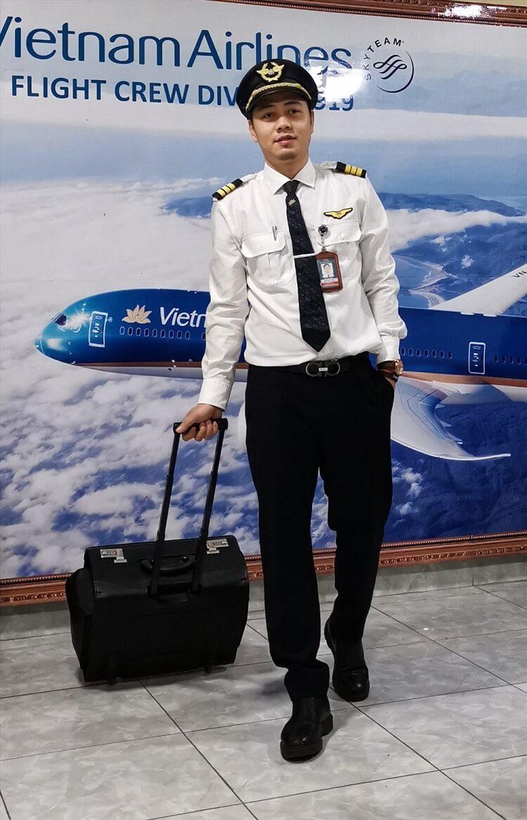 cho thuê trang phục phi công, cơ trưởng