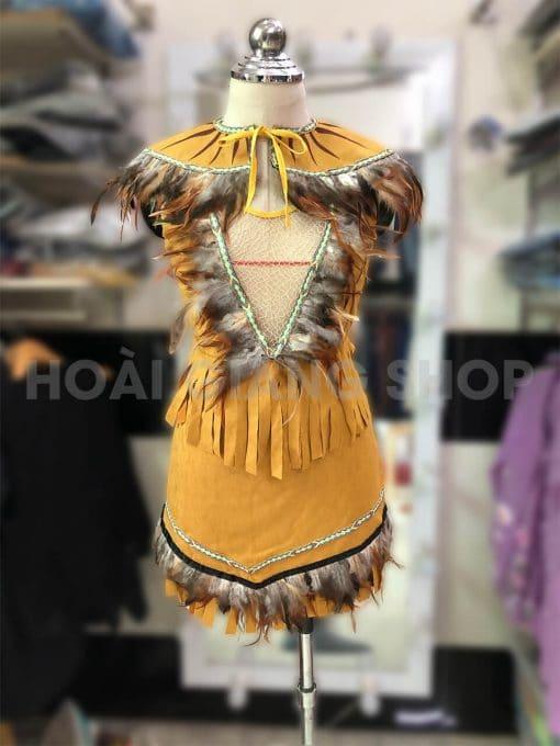 cho thuê trang phục thổ dân
