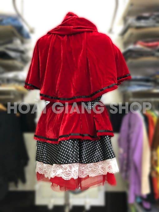 cho thuê trang phục cô bé quàng khăn đỏ