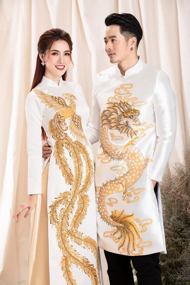 may áo dài cưới