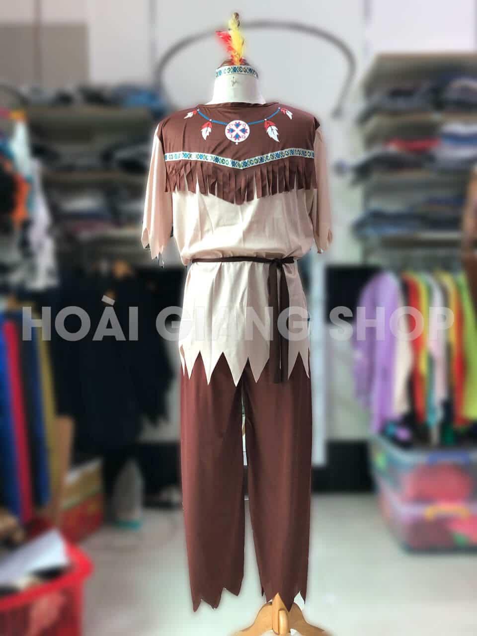 thuê trang phục thổ dân