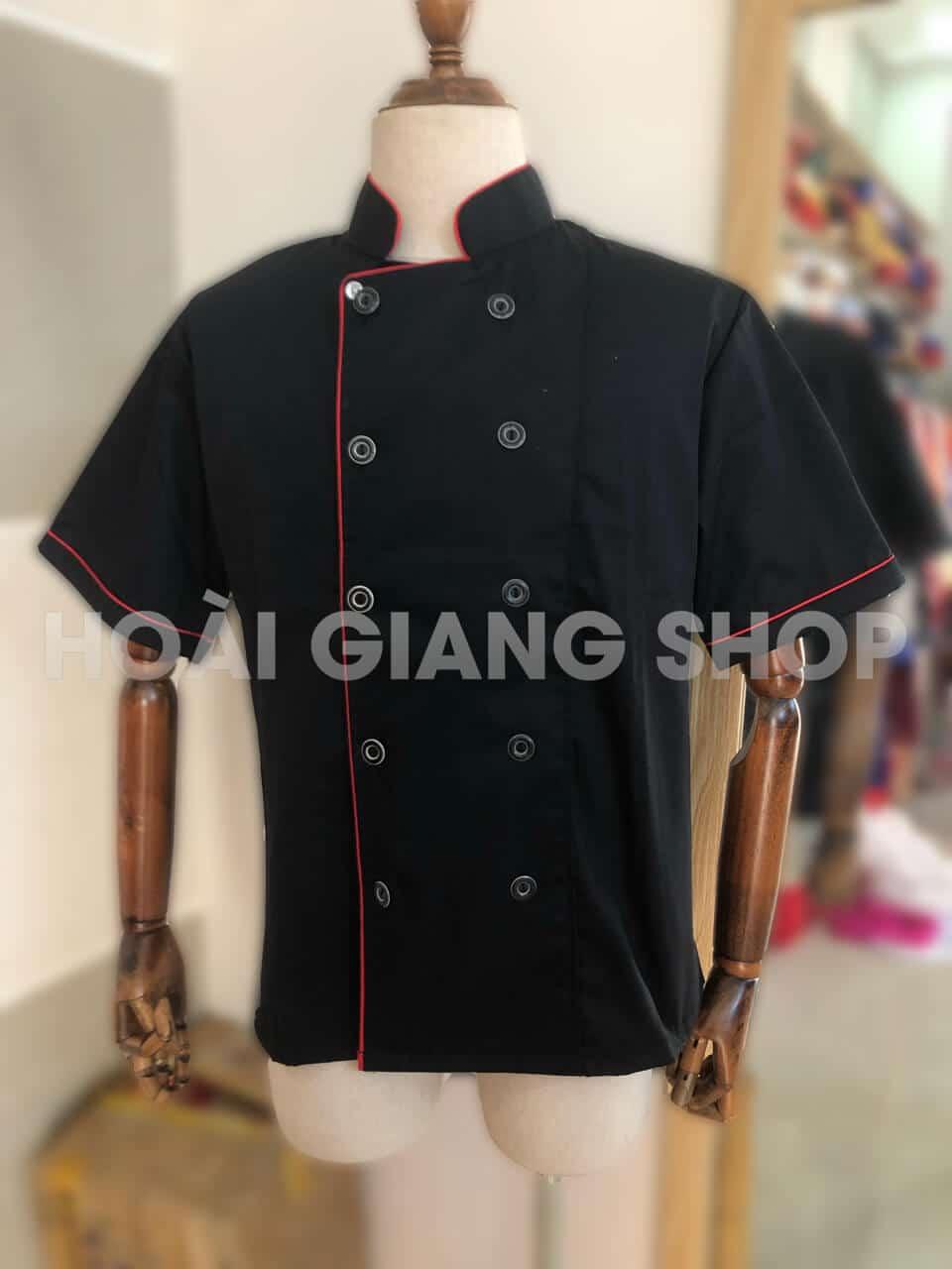 áo bếp đen