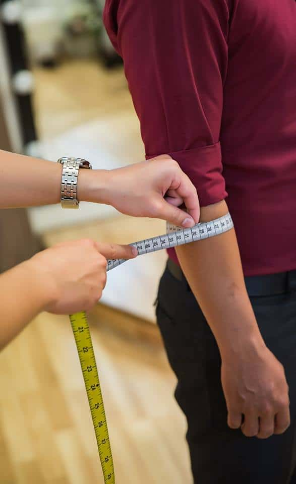 cách đo vest nam