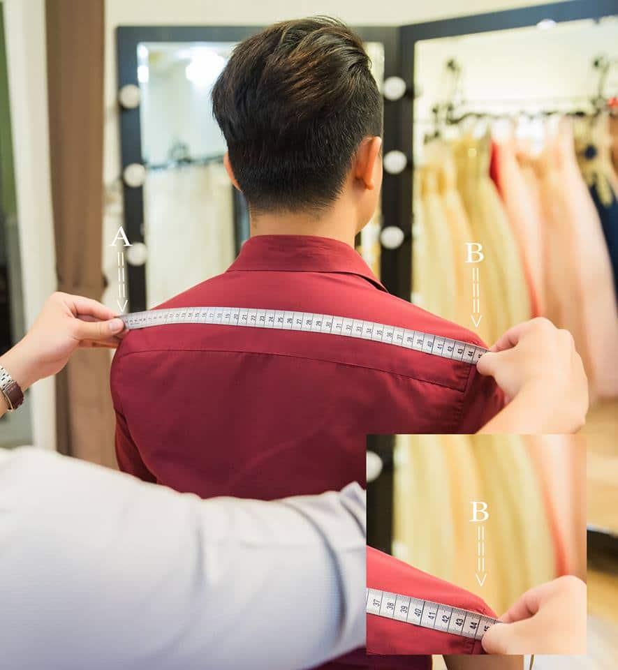 cách đo áo vest